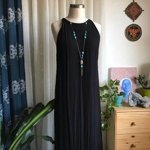 &Other Stories - Black Viscose Maxi Dress - 8/38
